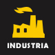 INDUSTRIA -  Industrial Business   HTML5 Template Nulled