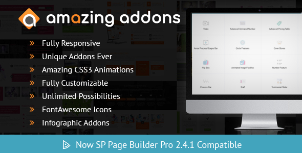 Amazing Addons For SP Page Builder - CodeCanyon Item for Sale