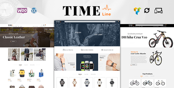 Time Lines – Multipurpose WooCommerce Theme