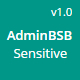 AdminBSB - Sensitive | Bootstrap Based Responsive Admin Theme - ThemeForest Item for Sale