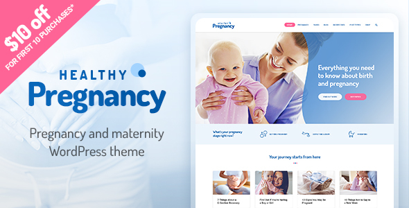 Healthy Pregnancy – Health & Medical WordPress Theme