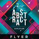 Electro Abstract - Flyer Template - GraphicRiver Item for Sale