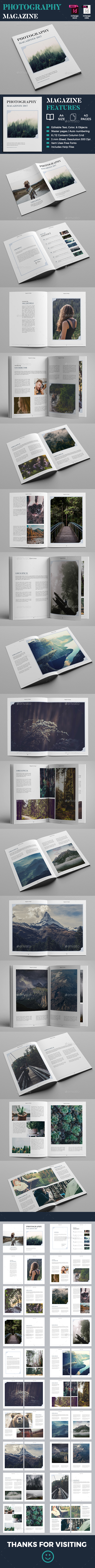 Photography Magazine - Magazines Print Templates