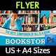 Bookstore Flyer Template - GraphicRiver Item for Sale