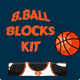 Basketball Brick Breaking Game Kit - GraphicRiver Item for Sale