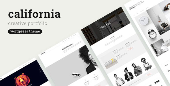 California – Premium Creative Multi-Purpose WordPress Theme for everybody