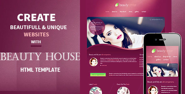 Beautiful House | Beauty and Health HTML Template