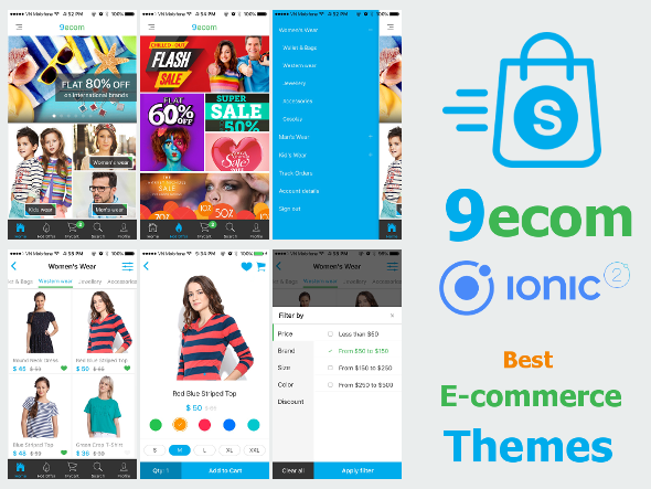 ionFull Ecommerce App 9ecom - CodeCanyon Item for Sale