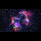 Rainbow Nebula 4K Motion Background