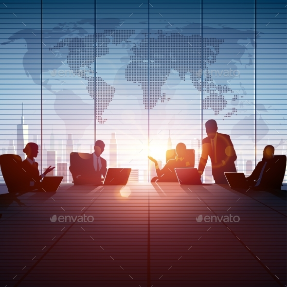 Business People Teamwork - Backgrounds Business