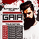 DJ Tour Dates Flyer Template - GraphicRiver Item for Sale