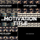 Clean Motivation Title - VideoHive Item for Sale