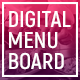 Digital Menu Board - Restaurant Display - VideoHive Item for Sale