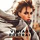 Vintage Portrait Lightroom Presets - GraphicRiver Item for Sale