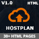 HostPlan - Responsive Domain Hosting HTML5 Template