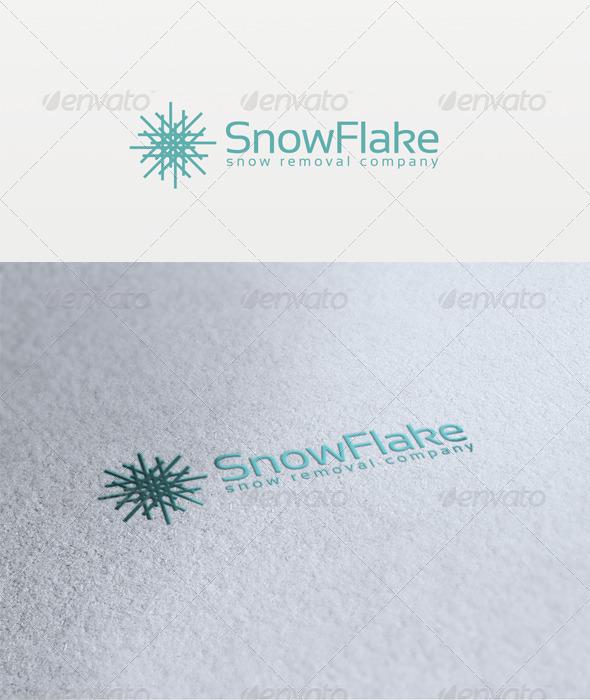 Snow Flake Logo - Symbols Logo Templates