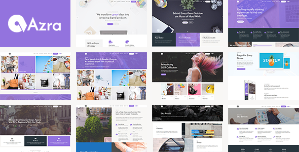 Azra – Creative Multi-Functional Theme