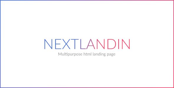 NEXTLANDIN - MULTIPURPOSE LANDING PAGE - Landing Pages Marketing