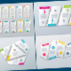 Infographic Templates in Paper Style. v.03 - GraphicRiver Item for Sale