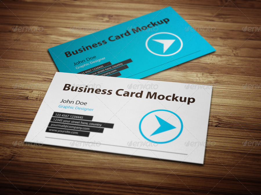 Business Card Mockup 3 by BlueMonkeyLab | GraphicRiver