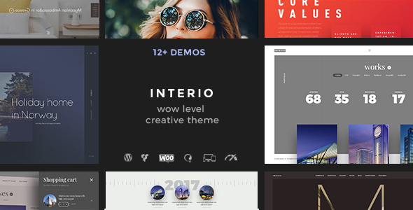 Interio | Creative Portfolio Theme