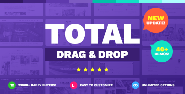 10+ Awesome Drag and Drop WordPress Themes for [sigma_current_year] 4