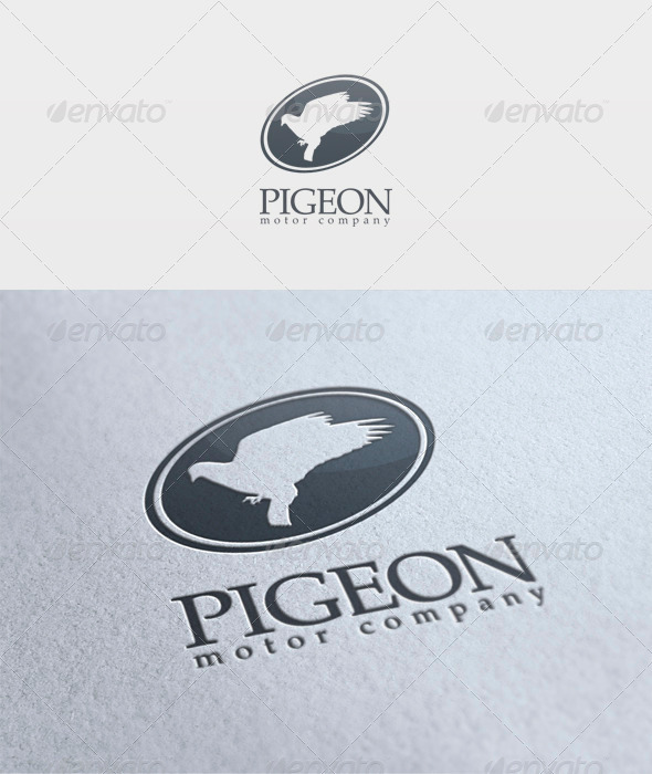 Pigeon Logo - Animals Logo Templates