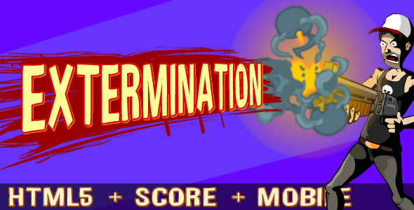 Extermination Zombies - Shoot + CAPX - CodeCanyon Item for Sale