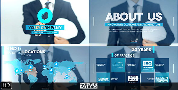 Videohive Future of Architecture 19658883