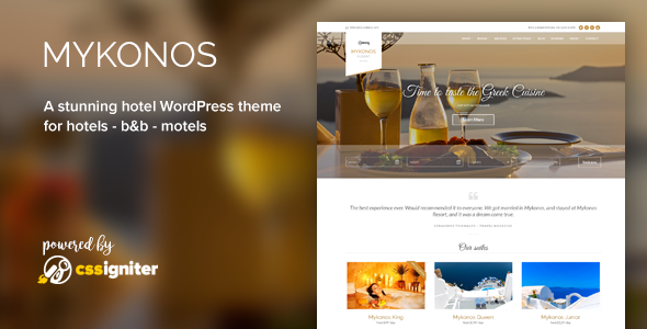The 20+ Best Hotel WordPress Themes for [sigma_current_year] 8
