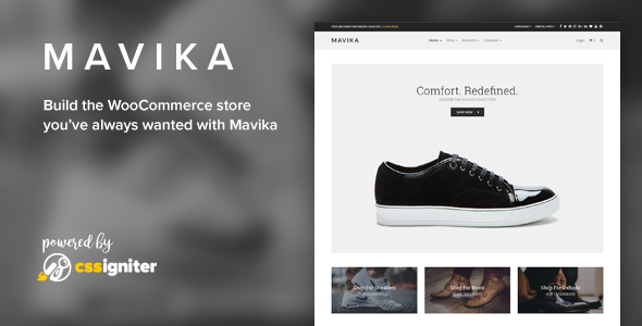 Mavika - WooCommerce Shop Theme