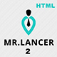 Mr.Lancer 2 Personal CV/Resume template - ThemeForest Item for Sale