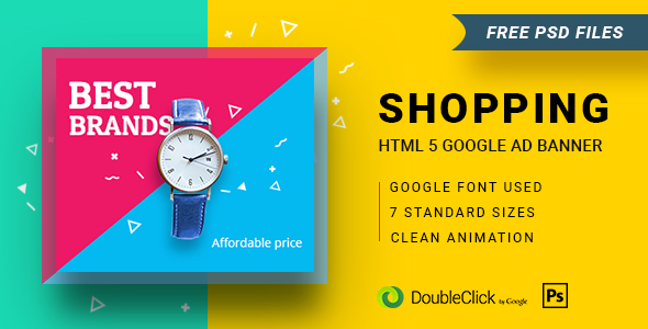 Shopping - HTML5 Animated Banner 16 - CodeCanyon Item for Sale