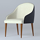 Armchair B&B Judy - 3DOcean Item for Sale