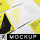 Small Regular Card A2 Mockup - GraphicRiver Item for Sale