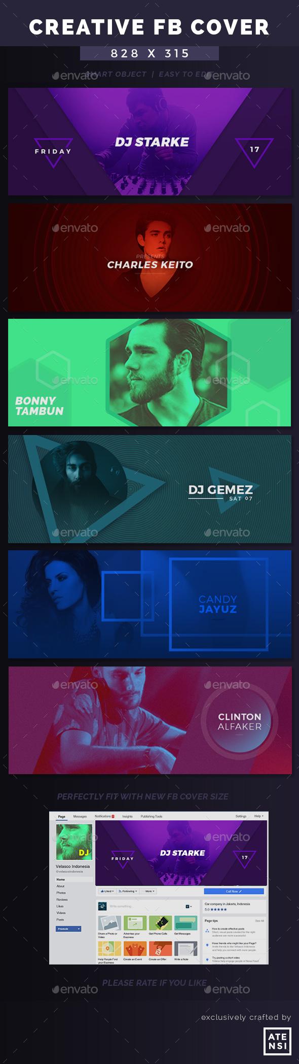 DJ New Creative Facebook Cover - Facebook Timeline Covers Social Media