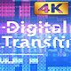 Digital Glitch Transitions v2 - 4K - VideoHive Item for Sale