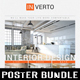 3 in 1 Interior Design Poster Bundle V04
