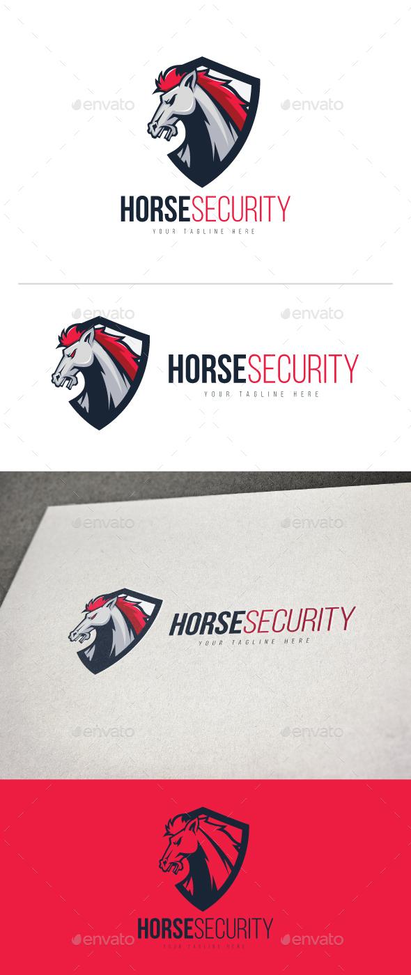 Horse Security - Animals Logo Templates