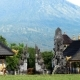 Pura Lempuyang Temple with Mount Agung in the Background - VideoHive Item for Sale