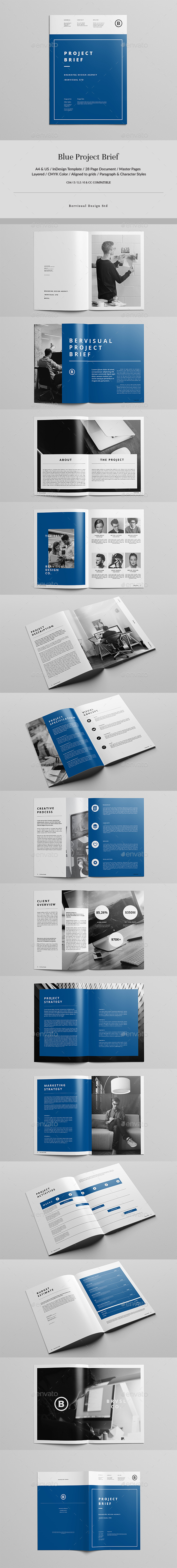 Blue Project Brief - Corporate Brochures