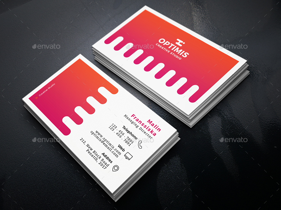 Sisir Creative Business Card by shapetrick | GraphicRiver