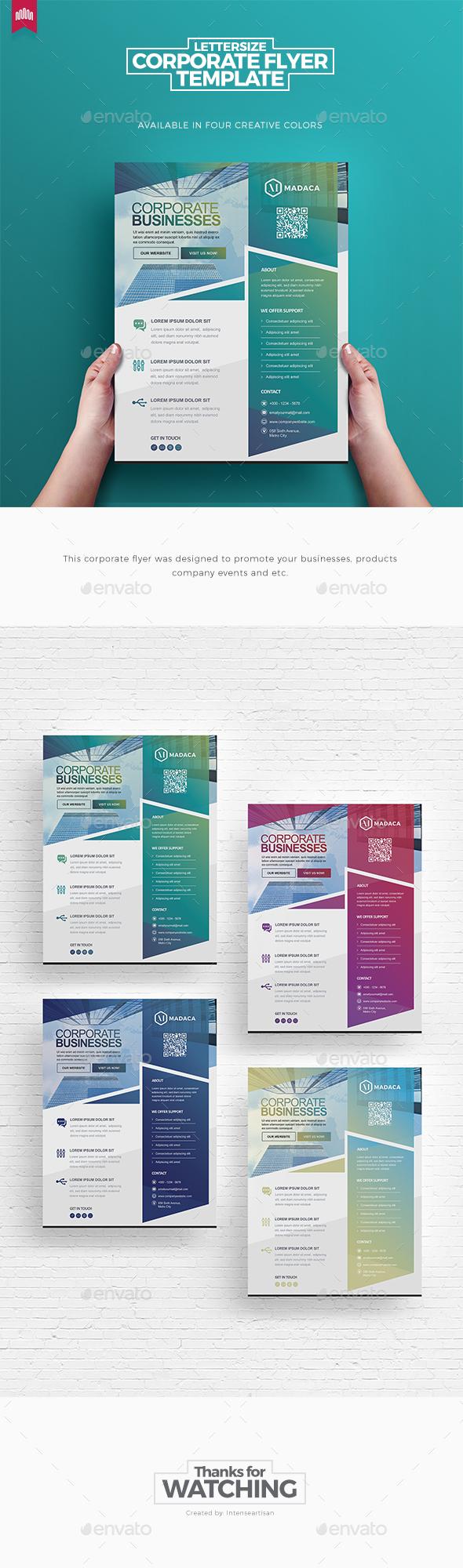 Corporate Pro - Flyer Template - Creative Business Cards
