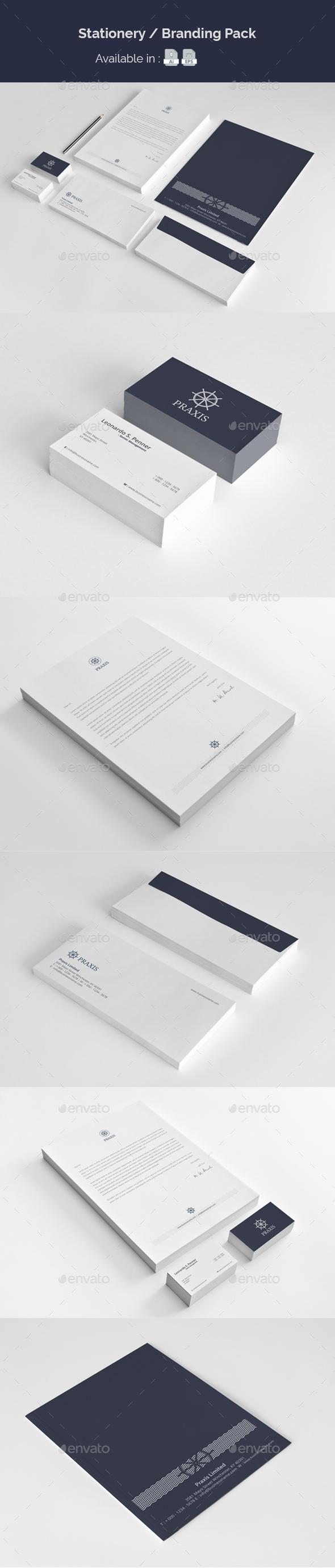 Stationery / Branding Pack - Stationery Print Templates