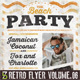 Retro Flyer vol.06 (Beach Party) - GraphicRiver Item for Sale
