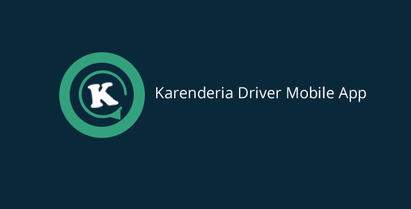 Karenderia Driver Mobile App - CodeCanyon Item for Sale