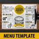 Food Menu Template - GraphicRiver Item for Sale