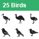 Birds Vector Icons - GraphicRiver Item for Sale