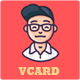 vCard - Personal vCard Template