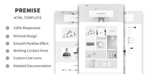 Premise - Creative and Minimal Portfolio HTML5 Template